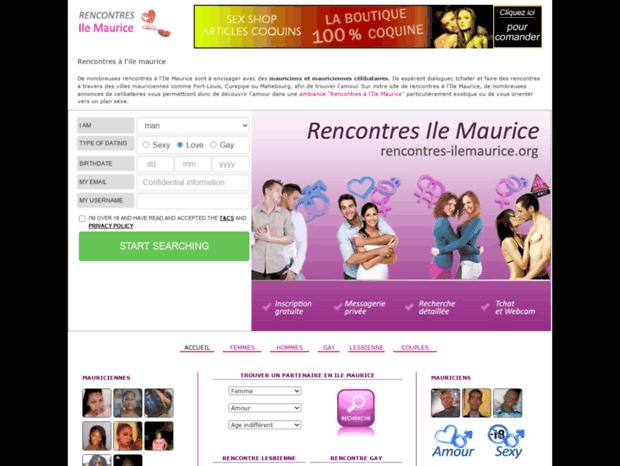 site de rencontres ile maurice)