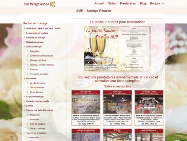 Bienvenue Au Salle Mariage Reunion Com Page Smr Salle Mariage