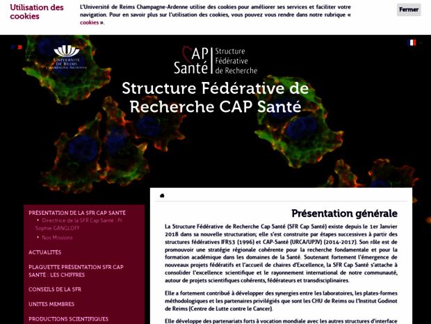 Bienvenue Au Scdurcauniv Reimsfr Page Présentation Générale