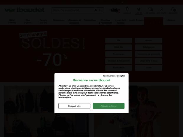 Bienvenue au secure.vertbaudet.ch page - Vêtements Enfant ...
