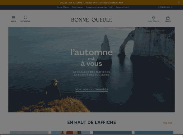 Bienvenue au shop.bonnegueule.fr page - E-shop BonneGueule ... 6ca1020cf175