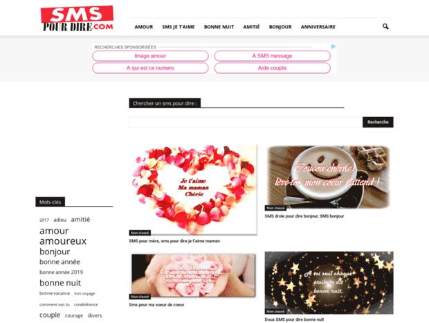 Bienvenue Au Sms Pour Direblogspotcom Page Message Et