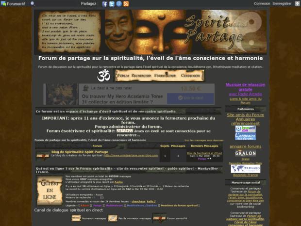 Site de rencontres pour personnes spirituelles