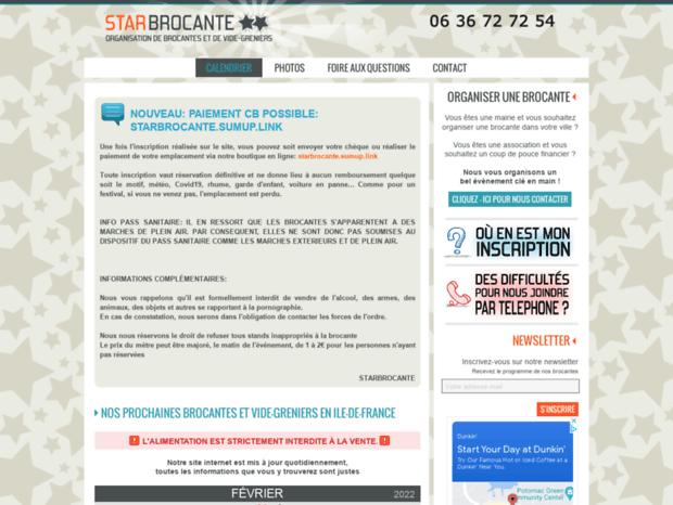 Calendrier Des Vide Greniers.Bienvenue Au Starbrocante Com Page Calendrier Des