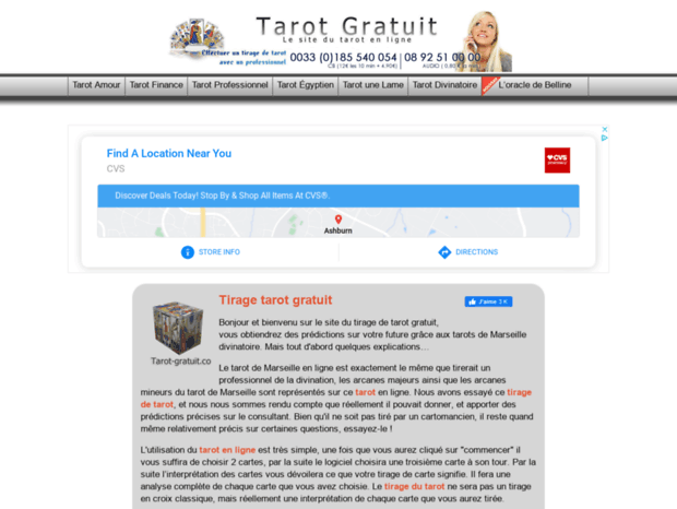 Bienvenue au tarot-gratuit.co page - Tirage de tarot gratuit. a4e7293173e6